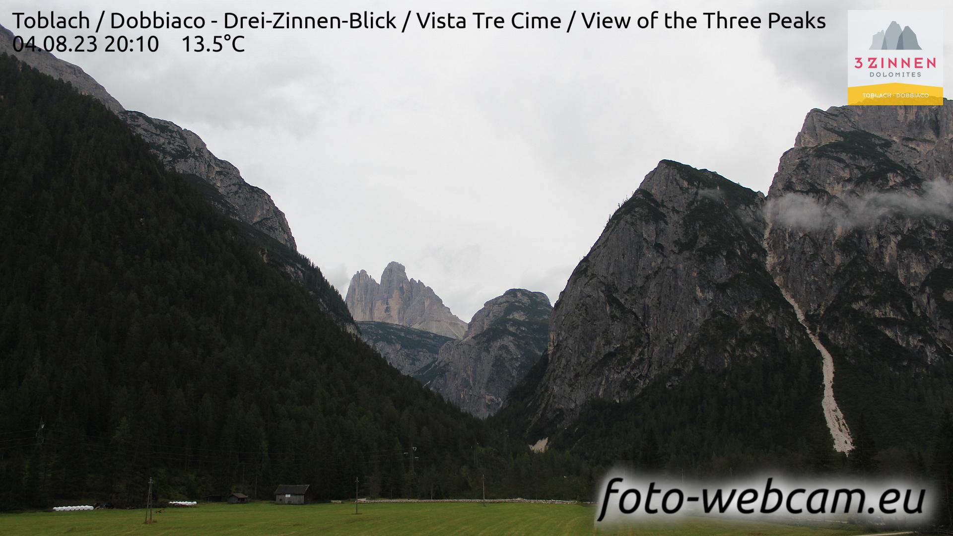 Toblach (Dolomites) Mon. 20:27
