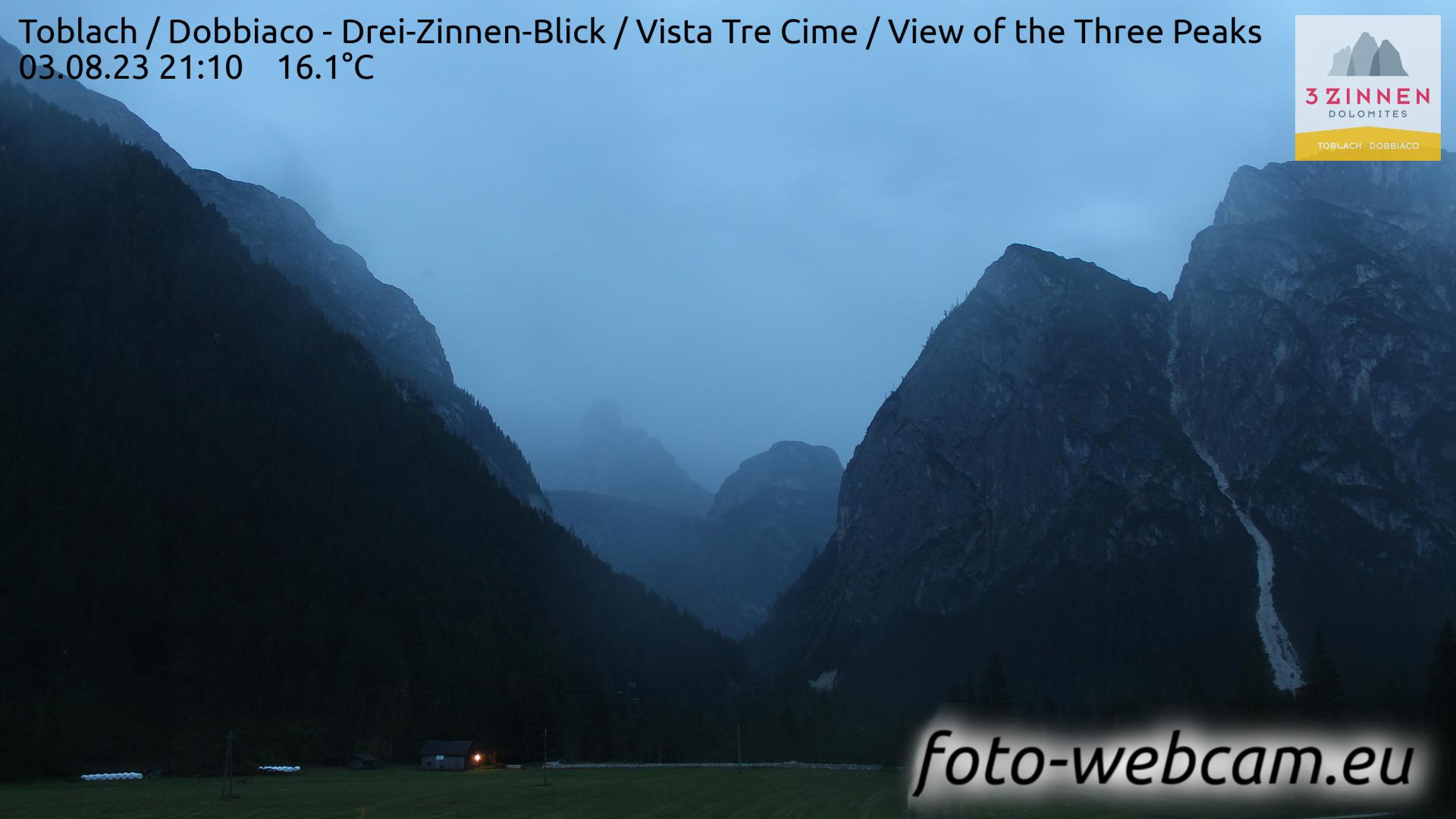 Toblach (Dolomites) Mon. 21:27