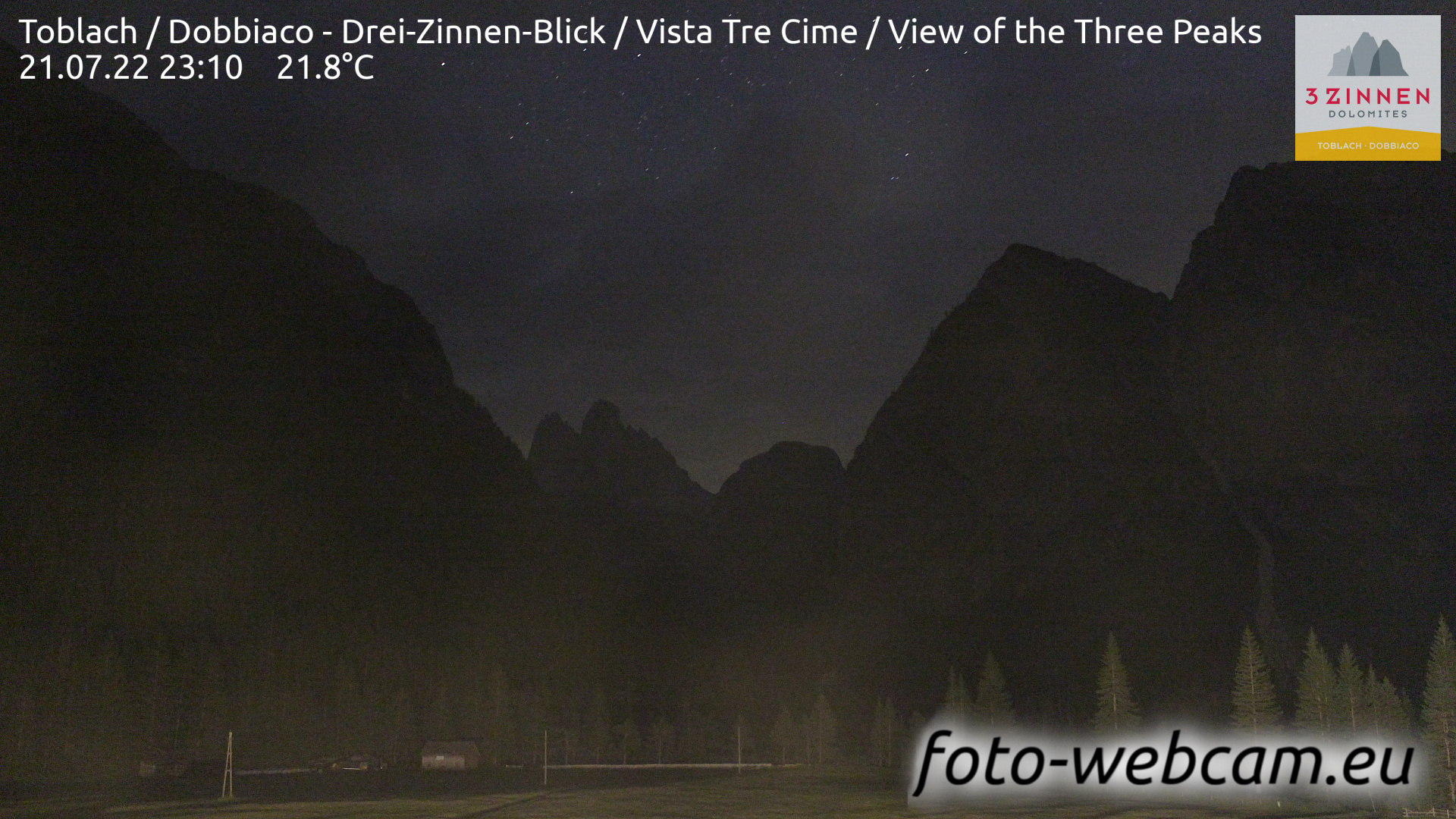 Toblach (Dolomites) Mon. 23:27