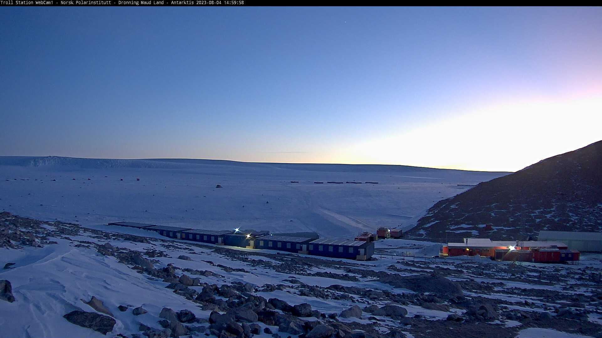Webcam online antarctida