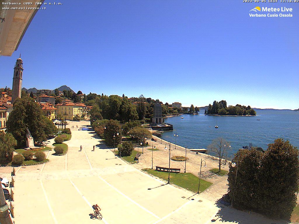 Verbania Lago Maggiore Karte.Verbania Lago Maggiore Verbania Pallanza Webcam Galore