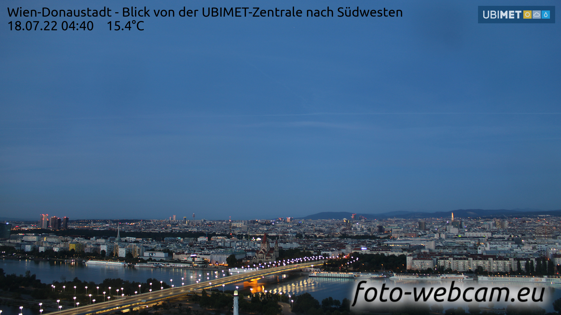 Vienna Fri. 04:45