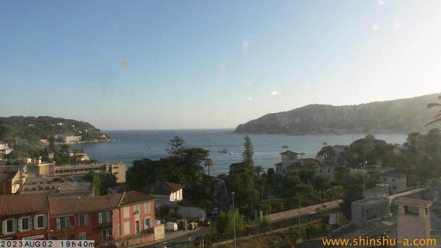 Webcam villefranche sur mer vista panoramica - Meteo villefranche sur saone ...