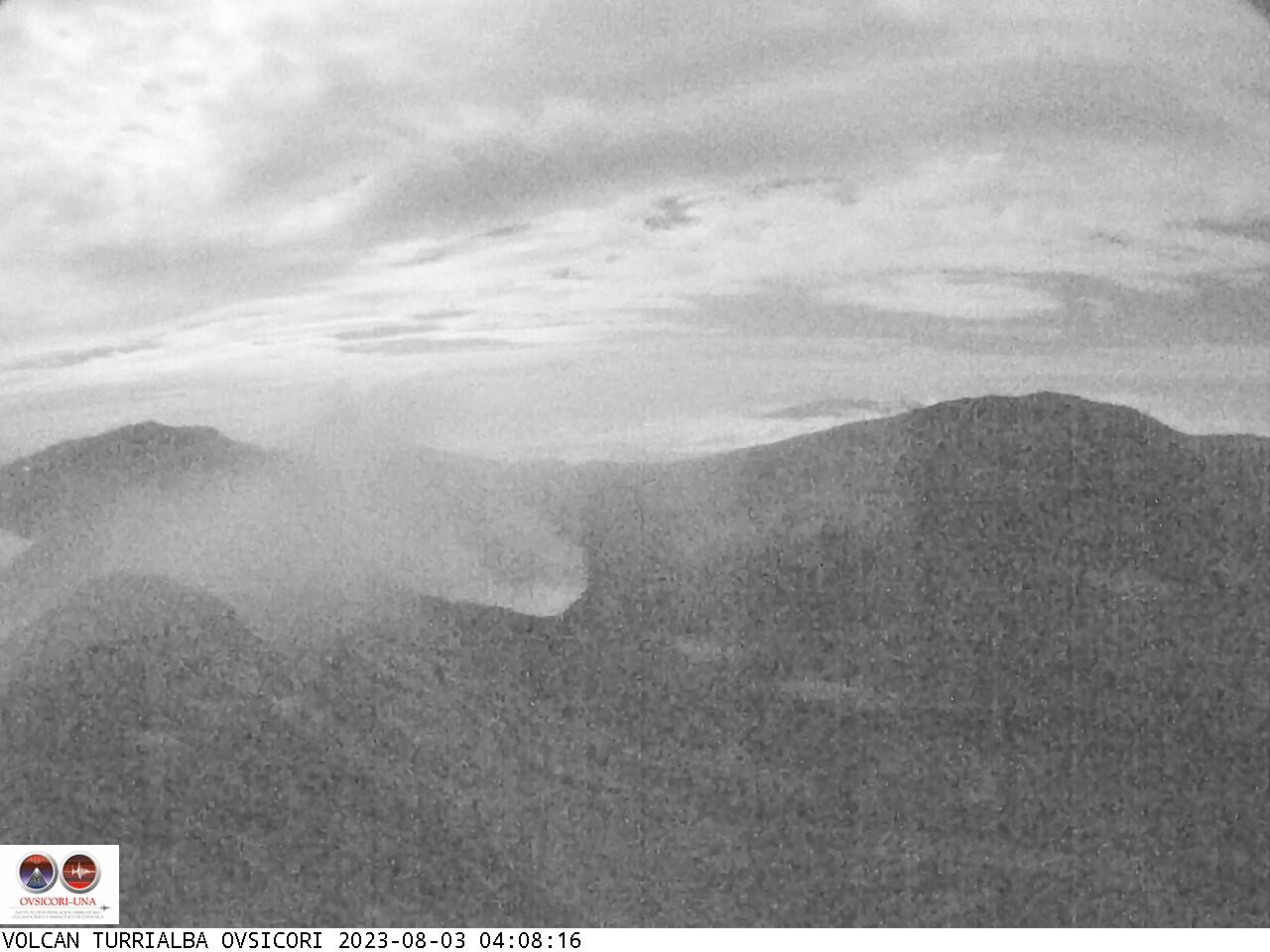 Volcano Turrialba Sun. 04:08
