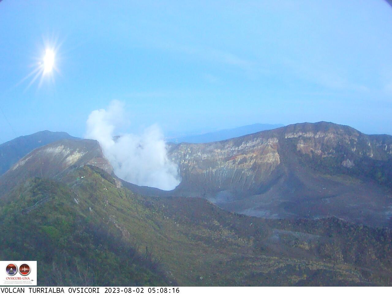Volcano Turrialba Sun. 05:08