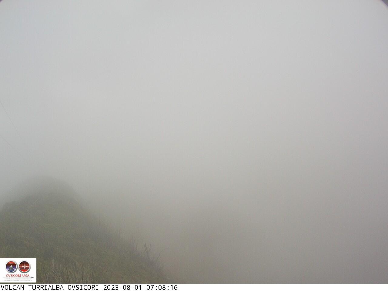 Volcano Turrialba Sun. 07:08