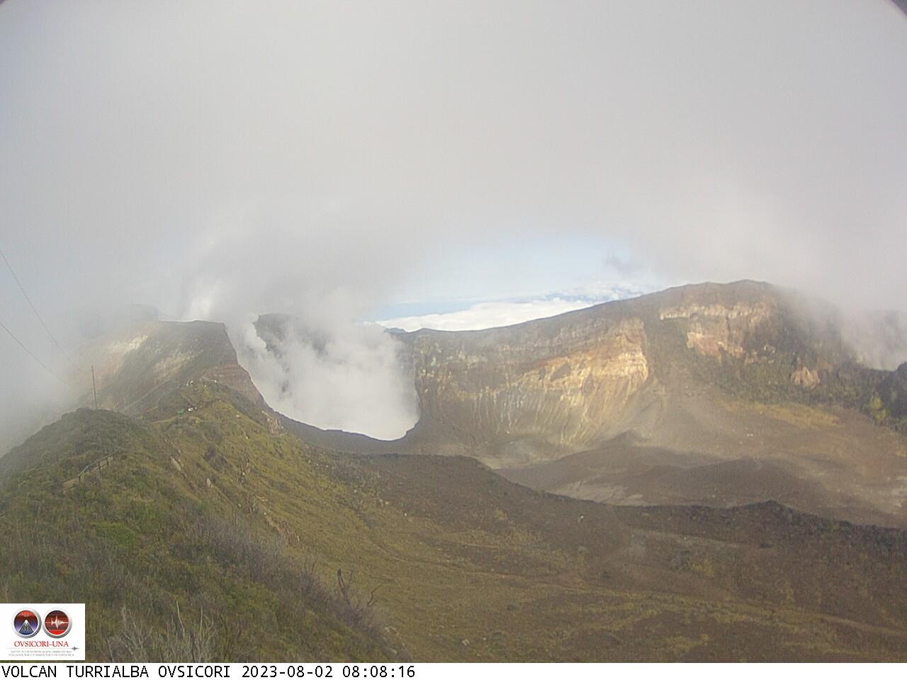 Volcano Turrialba Sun. 08:08