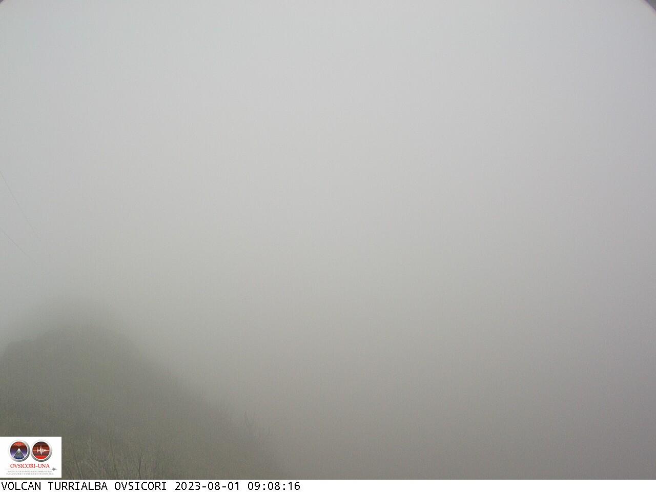 Volcano Turrialba Sun. 09:08
