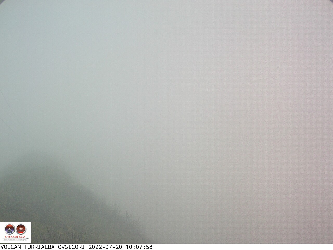 Volcano Turrialba Sun. 10:08