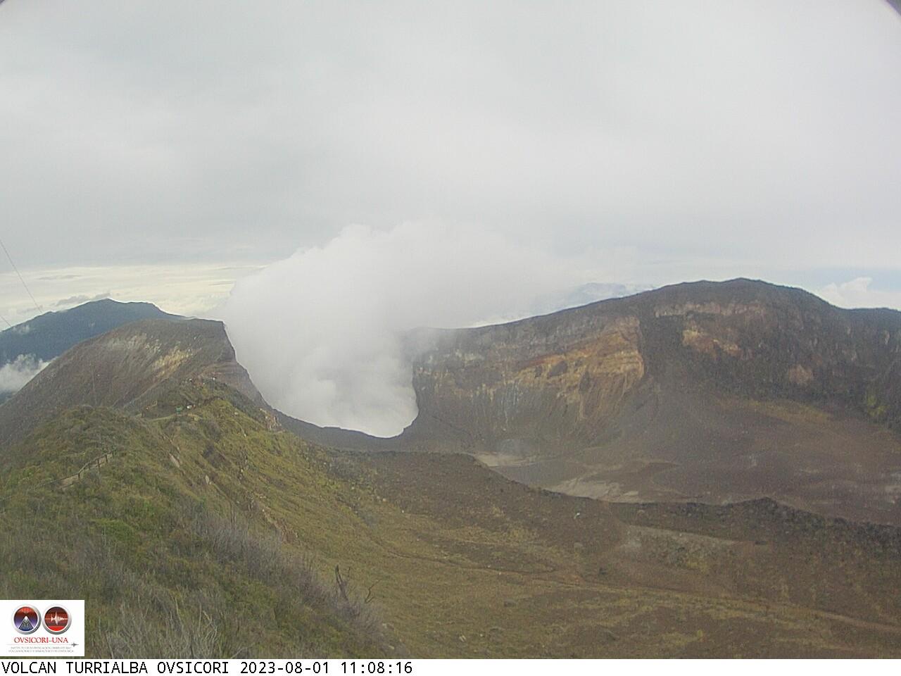 Volcano Turrialba Sun. 11:08