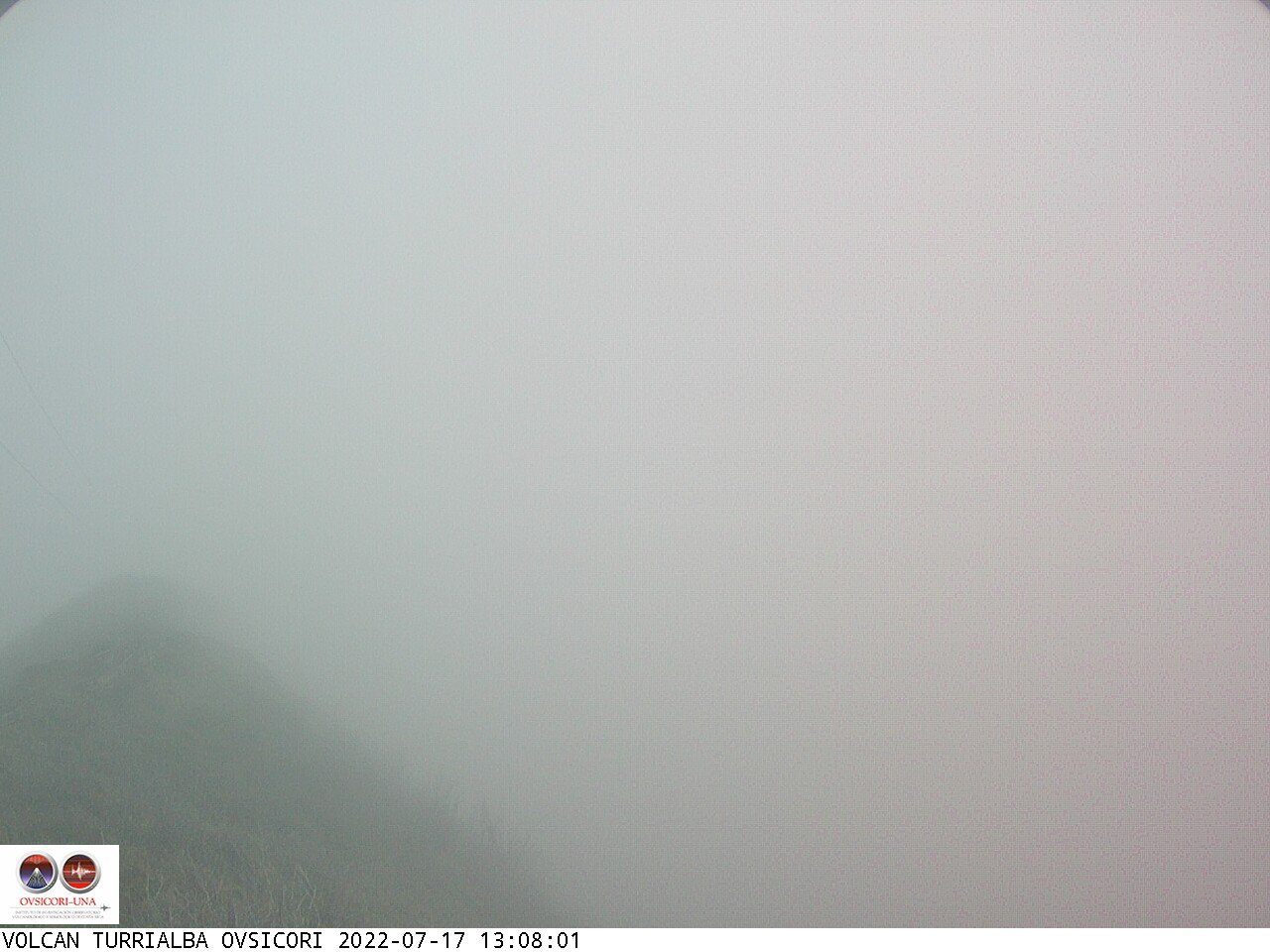 Volcano Turrialba Sun. 13:08