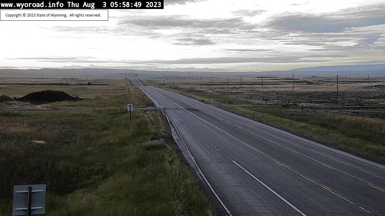 Waltman, Wyoming Wed. 06:04
