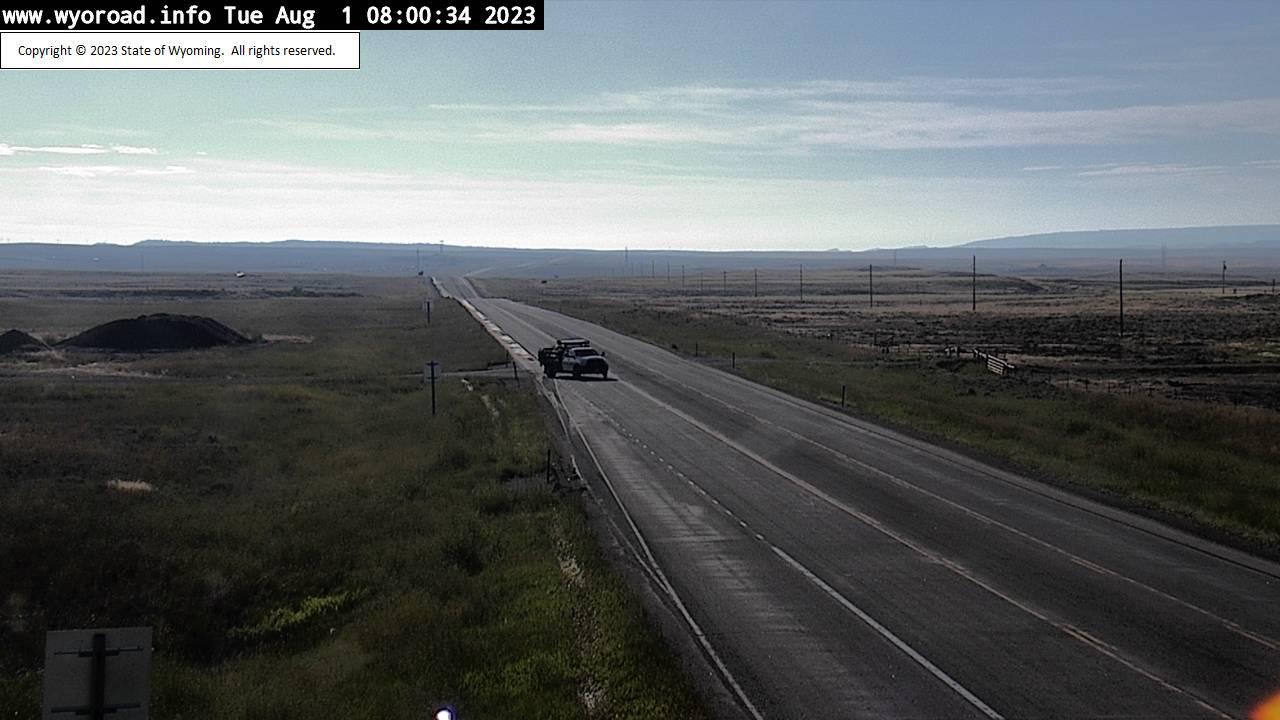 Waltman, Wyoming Tue. 08:04
