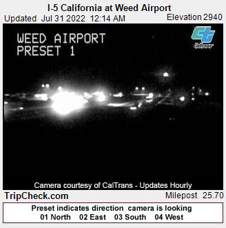 Weed, California Mon. 00:19