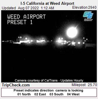 Weed, California Mon. 01:19