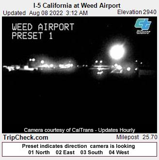 Weed, California Mon. 03:19