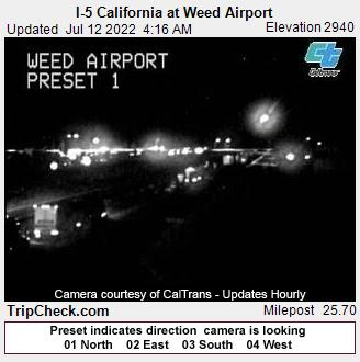Weed, California Mon. 04:19