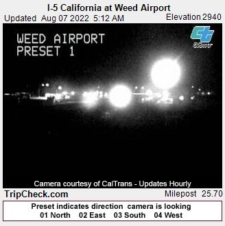 Weed, California Mon. 05:19