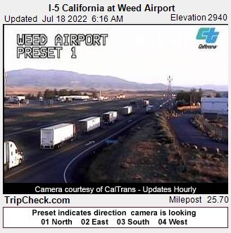 Weed, California Mon. 06:19