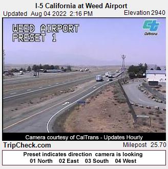 Weed, California Mon. 14:19