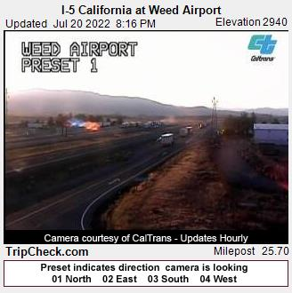 Weed, California Fri. 20:20