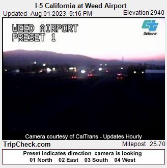 Weed, California Fri. 21:20