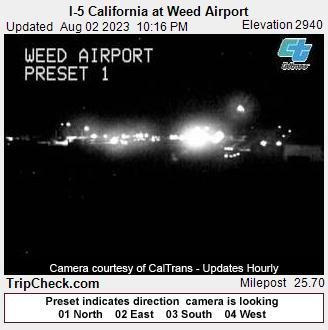 Weed, California Fri. 22:20