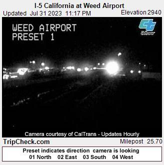 Weed, California Fri. 23:20