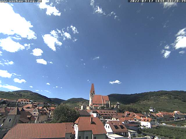 Weißenkirchen in der Wachau Mon. 14:56