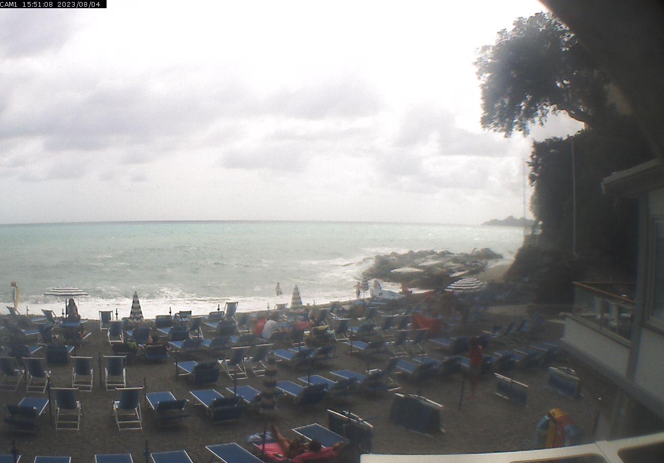 Webcam zoagli spiaggia di zoagli