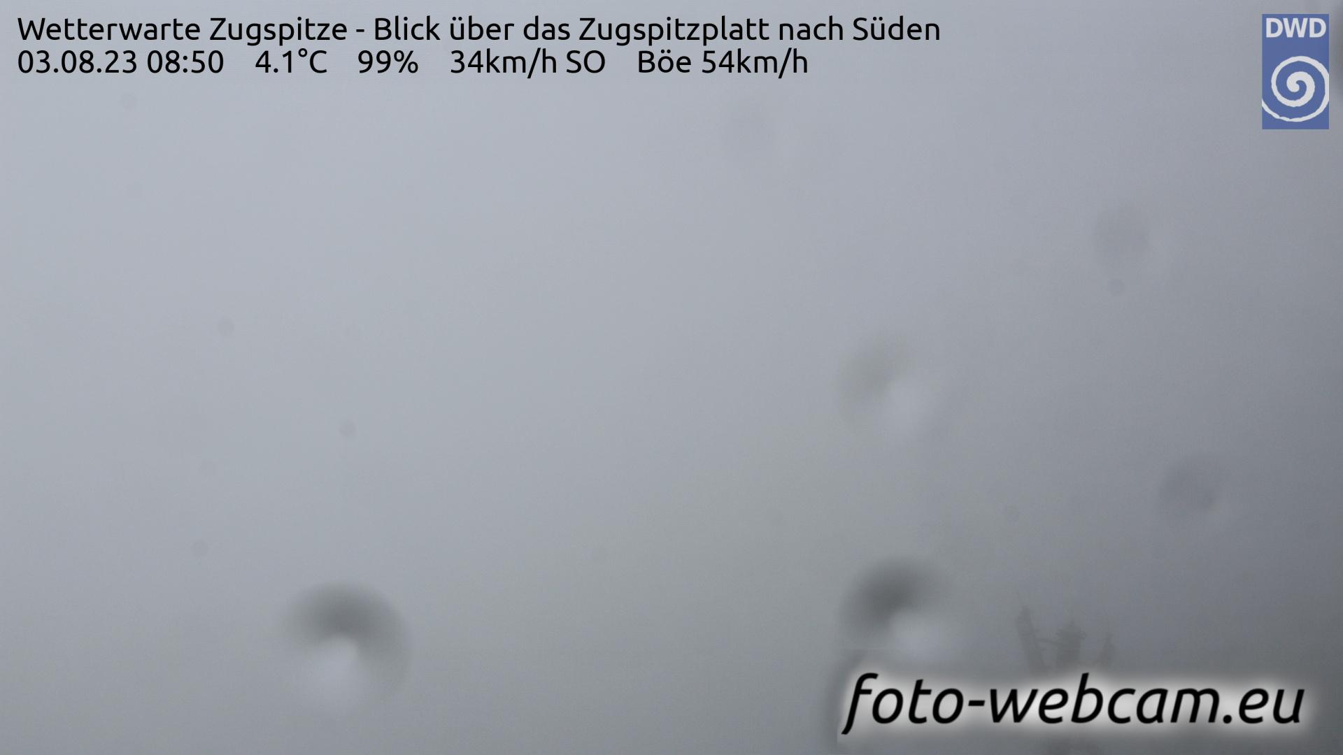 Zugspitze Fri. 08:58