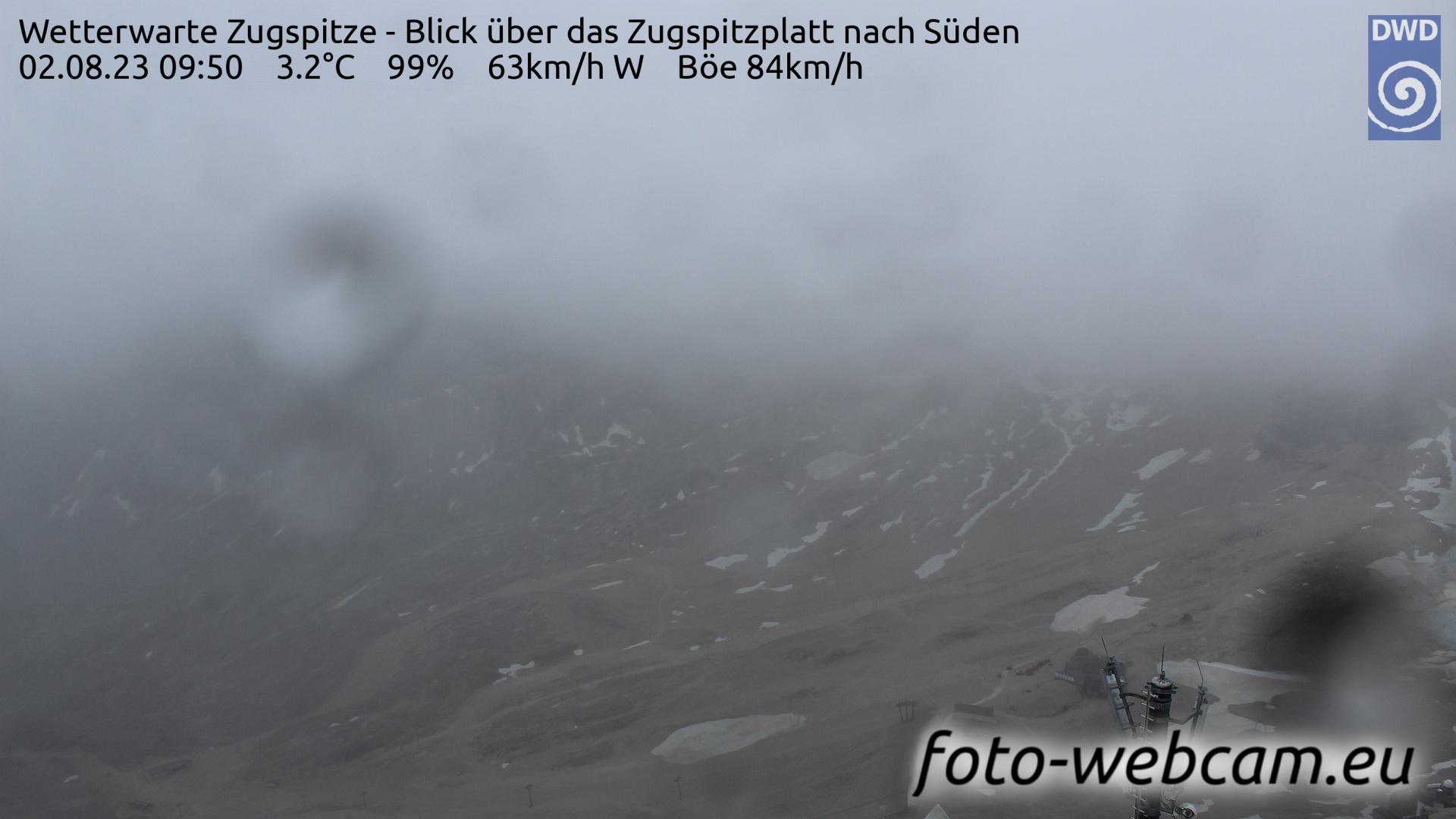 Zugspitze Fri. 09:58