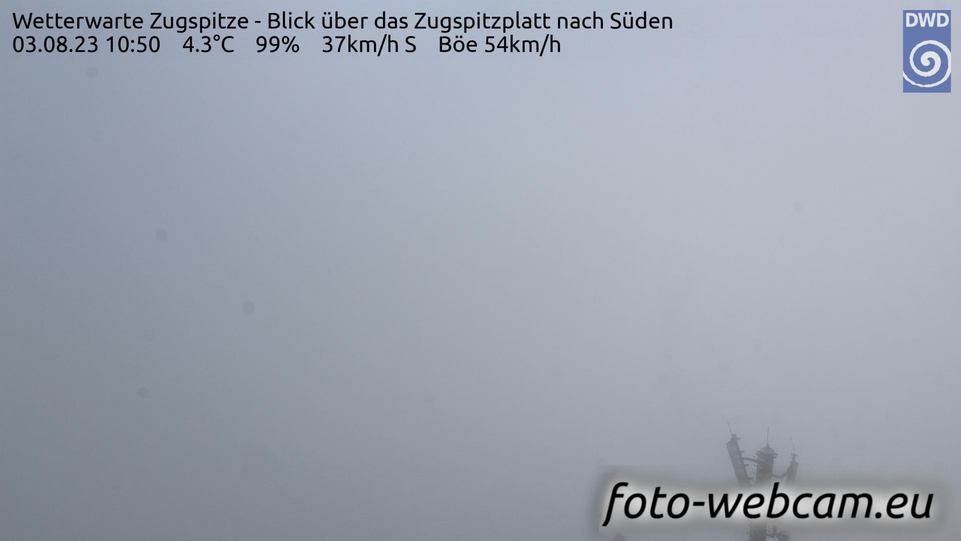 Zugspitze Fri. 10:58
