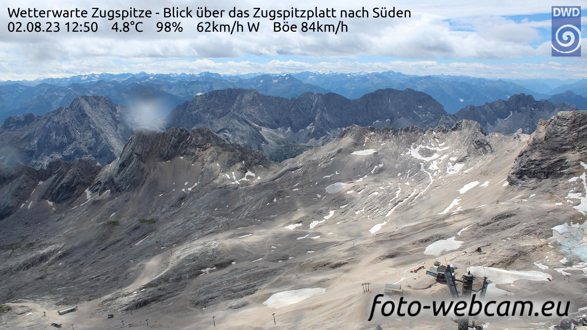 Zugspitze Fri. 12:58