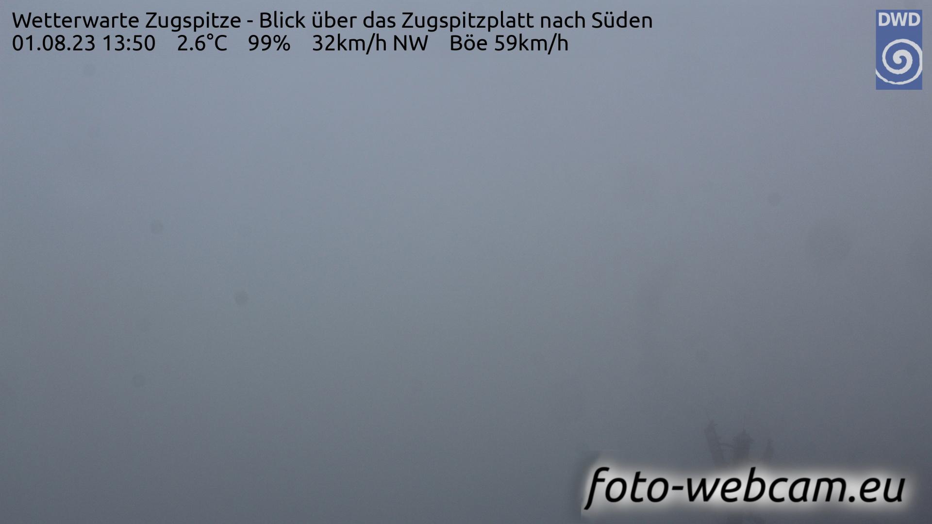Zugspitze Fri. 13:58