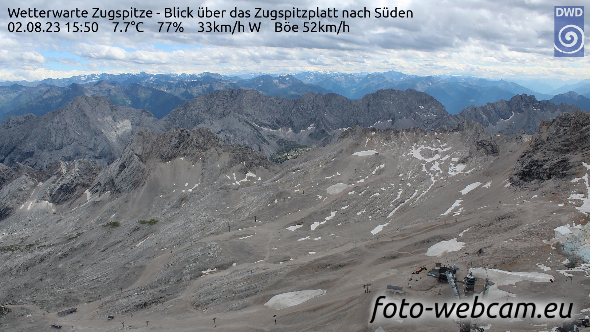 Zugspitze Fri. 15:58