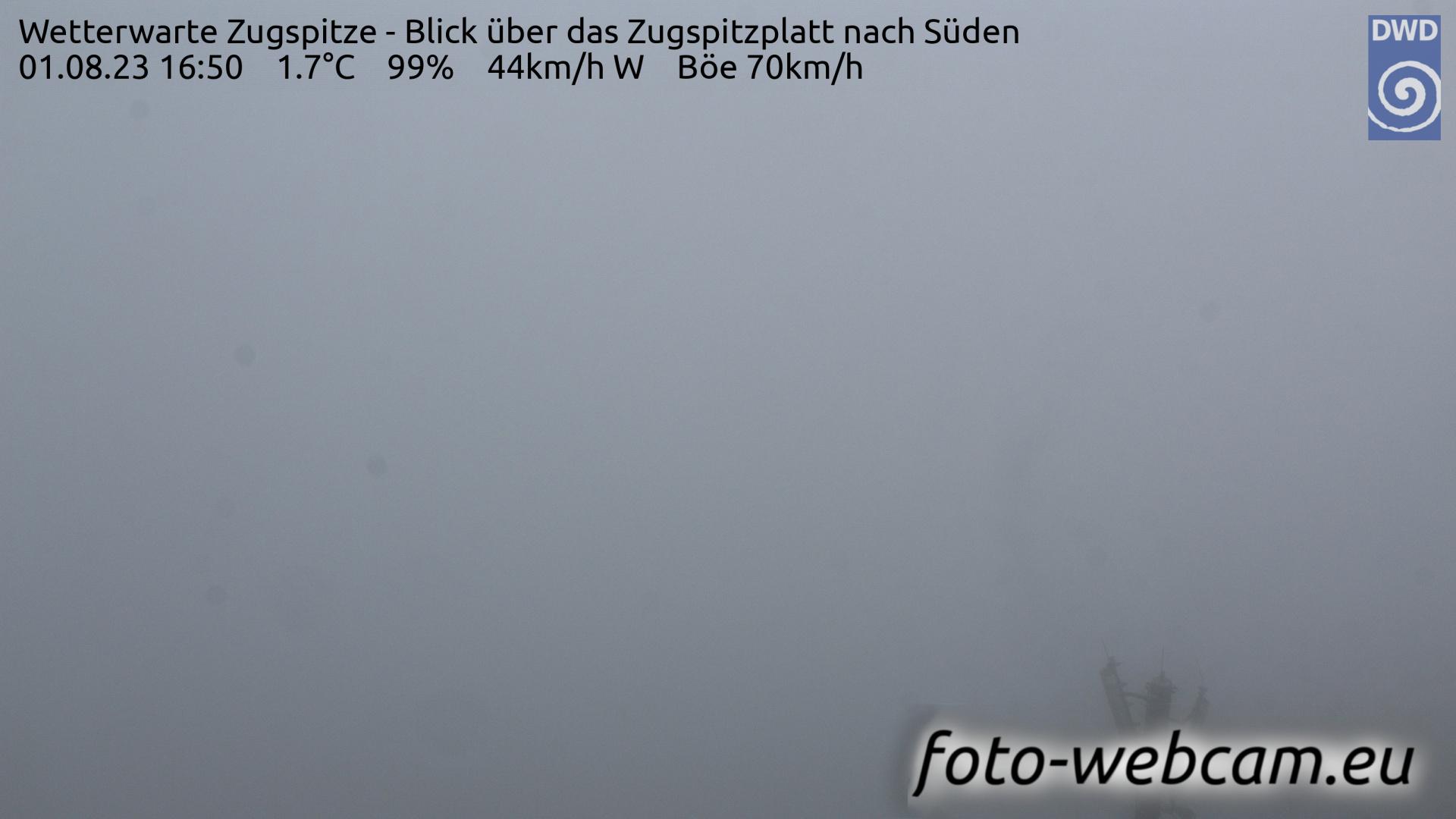 Zugspitze Fri. 16:58