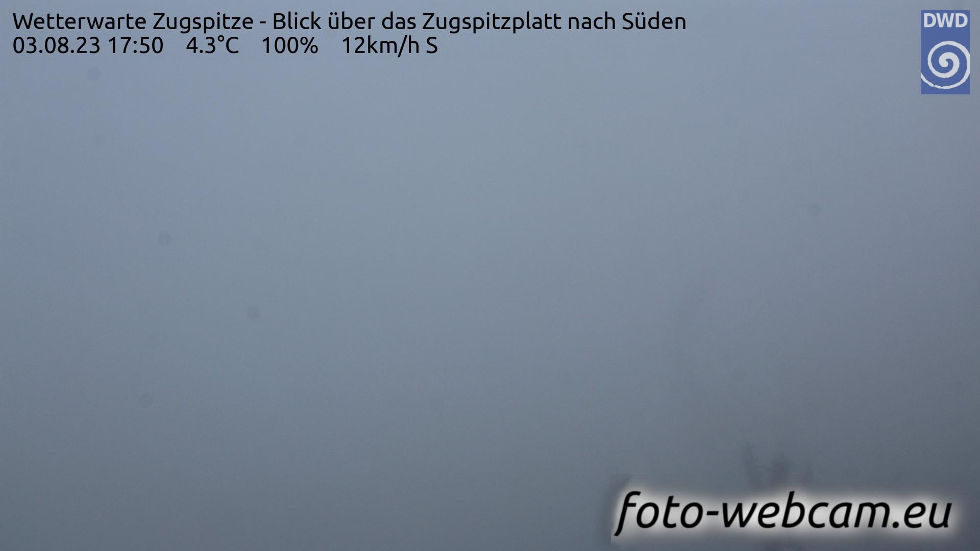 Zugspitze Fri. 17:58