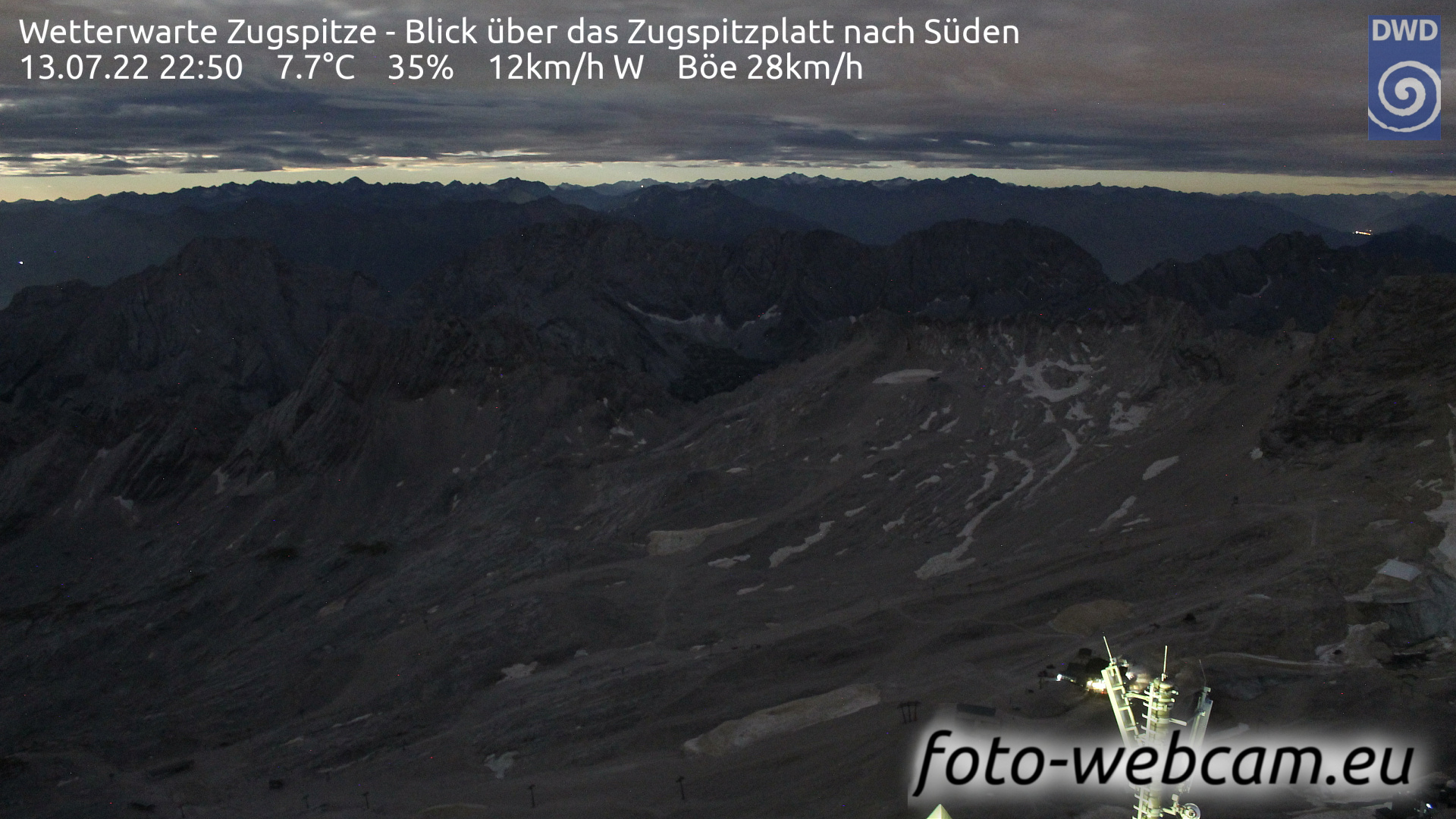 Zugspitze Fri. 22:58