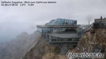 Zugspitze Lun. 08:45