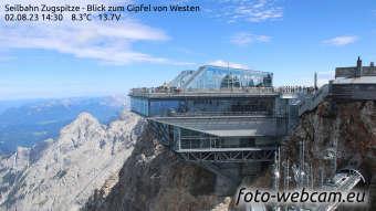 Zugspitze Lun. 14:45