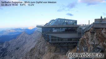 Zugspitze Lun. 19:45