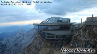 Zugspitze Lun. 20:45