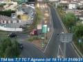 Webcam Agnano: Traffic T04 - KM 007,7 - TC 7 Agnano (stazione)