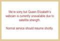 Webcam Queen Elizabeth