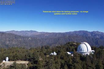 Webcam Mount Wilson, California