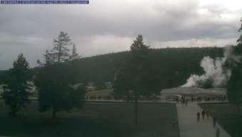 Webcam Old Faithful, Wyoming