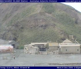 Webcam Macquarie Island Station
