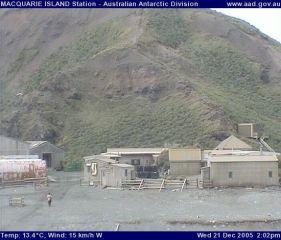 Webcam Macquarie Island Station