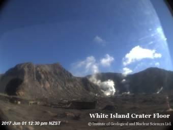 Webcam White Island Volcano
